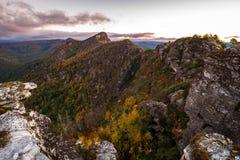 Vues spectaculaires de gorge de Linville Image stock