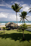 Vues splendides de l'Océan Atlantique dans Dominicana Photo libre de droits