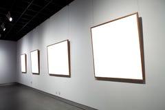 Vues sur le mur blanc Photo libre de droits
