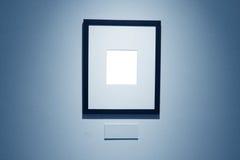 Vues sur le mur blanc dans le Musée d'Art Images stock