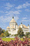 Vufflens Castle. View of the Vufflens castle surrounded by vineyards, located in the city of Vaus, Switzerland Royalty Free Stock Photography