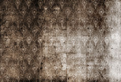 Vuil behang Royalty-vrije Stock Afbeeldingen