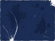 Vuil blauw document stock illustratie