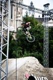 Vuil BMX in Budapet OSG13 Royalty-vrije Stock Foto