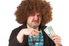 Vuil geld Royalty-vrije Stock Afbeeldingen