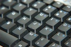 Vuil toetsenbord Stock Afbeeldingen
