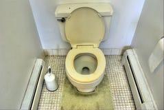 Vuil Toilet Royalty-vrije Stock Afbeelding