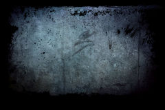Vuil venster, grunge achtergrond stock foto's