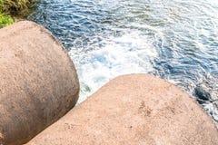 Vuil water Stock Afbeeldingen