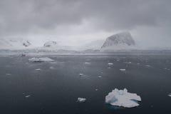 Vuil weer in Antarctica Stock Afbeeldingen