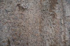 Vuil zand op de weg Mening van hierboven stock foto's