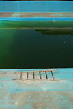 Vuil zwembad Stock Foto's
