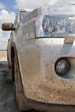 Vuile auto Royalty-vrije Stock Afbeelding