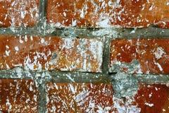 Vuile bakstenen muur royalty-vrije stock foto's