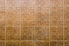 Vuile bakstenen muur voor achtergrond Stock Fotografie