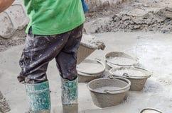Vuile bouwwerkzaamheid Stock Fotografie