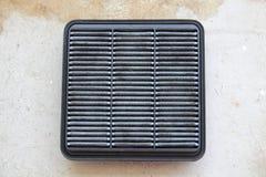 Vuile de filter van de autolucht Royalty-vrije Stock Foto's