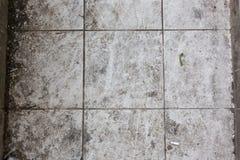 Vuile de textuurachtergrond van het keramische tegelspatroon stock afbeeldingen