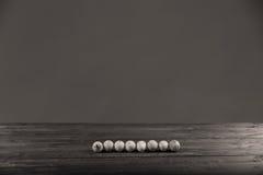 Vuile eieren Royalty-vrije Stock Fotografie