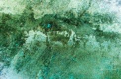 Vuile grijs-blauwe oude abstracte achtergrond. royalty-vrije stock foto's
