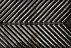 Vuile grill Royalty-vrije Stock Foto's