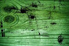 Vuile grunge ultra groene Houten textuur, scherpe raadsoppervlakte voor ontwerpelementen Royalty-vrije Stock Afbeelding