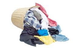 Vuile kleren stock fotografie
