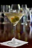 Vuile martini stock fotografie