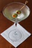 Vuile martini royalty-vrije stock fotografie