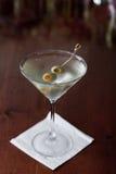 Vuile martini stock foto's