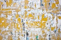 Vuile muur Royalty-vrije Stock Fotografie