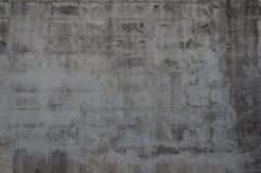 Vuile muurtextuur met grijze baksteen voor achtergrond Stock Foto