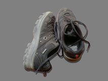 Vuile schoenen Stock Fotografie