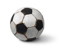 Vuile voetbal Royalty-vrije Stock Foto