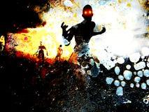 Vuile Zombieën Stock Foto's