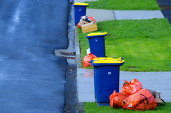 Vuilnis en recycling Royalty-vrije Stock Foto's