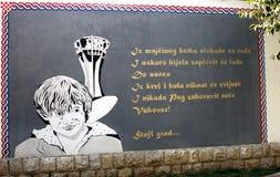 Vukovar Memorial Royalty Free Stock Image