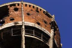 Vukovar water tower. Stock Photos