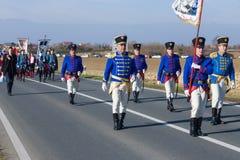 Vukovar wiec zdjęcie royalty free