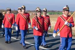 Vukovar wiec zdjęcia royalty free
