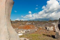 Vulcânico de pedra Fotografia de Stock