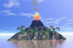 Vulcão Fotos de Stock