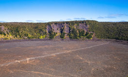 """Vulcão caixa de Iki lauea do parque nacional KÄ do """" fotografia de stock royalty free"""