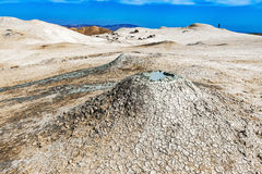 Vulcão da lama Fotografia de Stock Royalty Free
