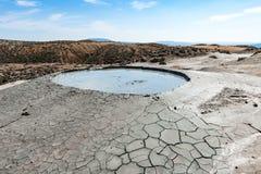 Vulcão da lama Fotografia de Stock