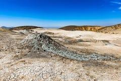 Vulcão da lama Fotos de Stock