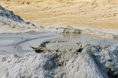 Vulcão da lama em Berca, Romênia Foto de Stock