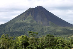 Vulcão de Arenal Imagens de Stock Royalty Free