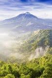 Vulcão de Batur fotografia de stock