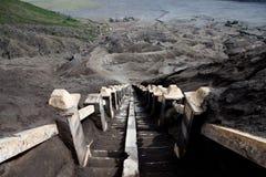 Vulcão de Bromo da montagem da escadaria, East Java Imagem de Stock